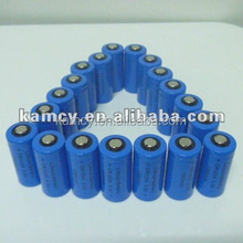 CR123A 3V Lithium battery CR123A 900mAh 3V non rechargeabe LiMnO2 cell