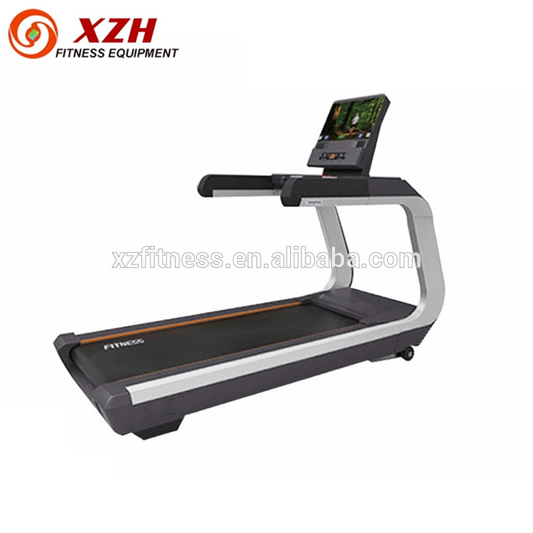 2018 Best prices Commercial Treadmill Heavy use with TV and touch screen Gym equipment
