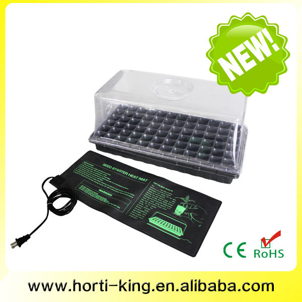 Indoor growing germination tray seed germination incubator