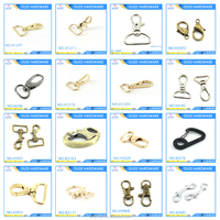 Common Design Custom Metal Key Chain Snap Hook Bag Parts And Accessories Dog Leash Swivel Snap Hook