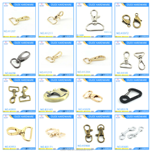 Common Design Custom Metal Snap Hook Bag Parts And Accessories Dog Leash Swivel Snap Hook Mountaineering Buckle