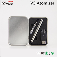 win cigarette 0.5ml glass cartridge 2 in 1 vapor pen slim bottom coil clearomizer 1 ml