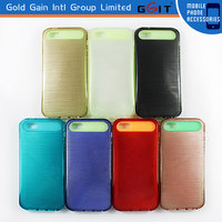 New Style PC Silicon Soft Cover Case For IPhone 5S, Hot Selling Mobile Phone Case For IPhone 5S