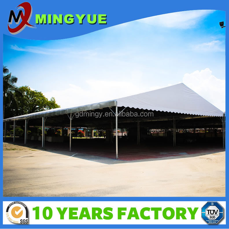200 people Flame Retardant Aluminum Clear Span Durable wedding tent for sale
