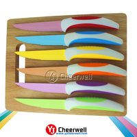 Factory Supply stainless steel serrated steak knife