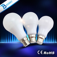 Wholesale pc diffuser led bulb 3w/5w/7w/9w/11w /12w led light bulb with e19 base