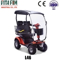 Vitafom-4 Wheel Electric Double Seat Mobility Scooter, PG Controller, Taiwan Motor