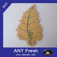 tree Shape Cheap Car Air Freshener Make in Cotton Paper