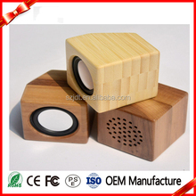 Newest Product Mini Portable Wood Bamboo Wireless Bluetooth Speaker
