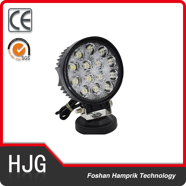 42W waterproof round led car auto lights 12v truck daytime driving lights