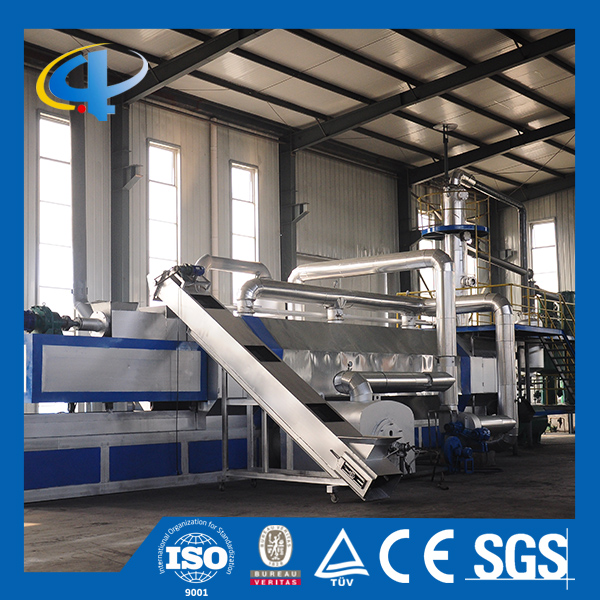 Incinerator waste tire pyrolysis machine
