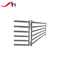 hot dip galvanized cattle corral fencing panels