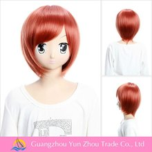 Hotsale short dark brown cosplay hair wig mituna cosplay