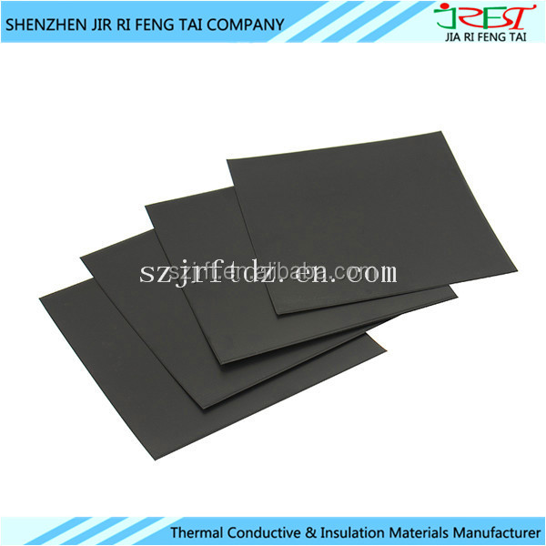 Die-Cutting Flexible NFC Ferrite Magnetic Sheet With 0.15mm Thickness For NFC Function Mobile Phone