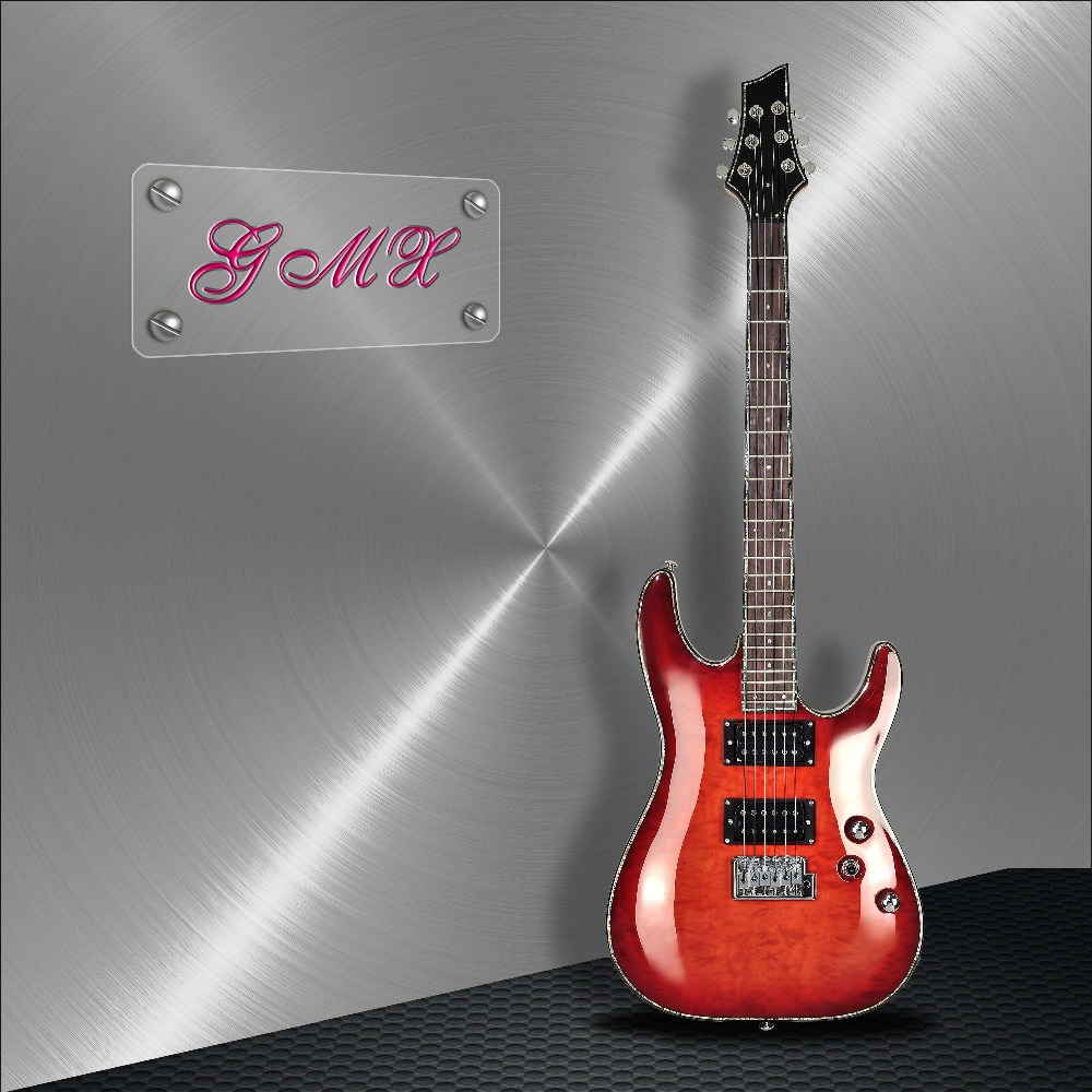 Custom Made All Solid ST Style Electric Guitar