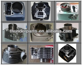 Cylinder block parts for Haojin Motorcycles 125cc,150cc