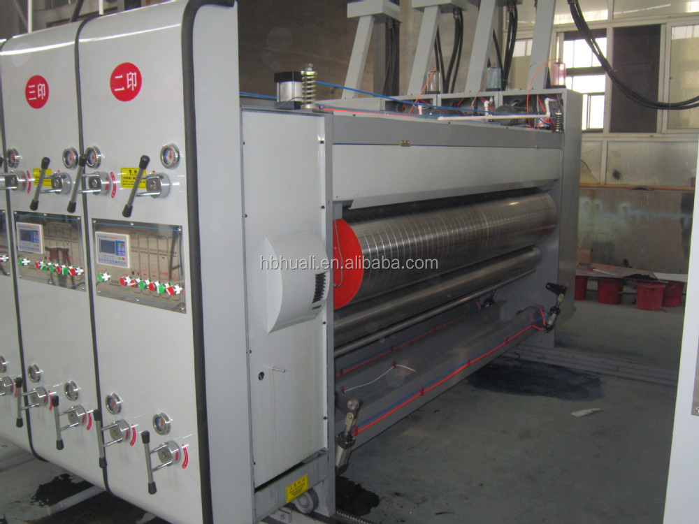 GYK high speed Automatic Printing Grooving and Cutting Machine