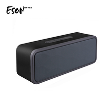 Eson Style 2018 Newest Mini Super Bass Good Treble Bluetooth Speaker Rectangle Power Bank Bluetooth