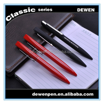 2015 hot items products High-end metal pen Rubber Paint 4 Colors Ballpoint Pen
