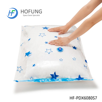 Quilts Storage Portable and Useful Star Vacuum Bag With Pump