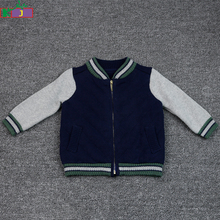 custom baby varsity jacket boy winter cotton plain baseball jacket