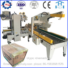 with factory price folding cover 4 sides sealing carton machine