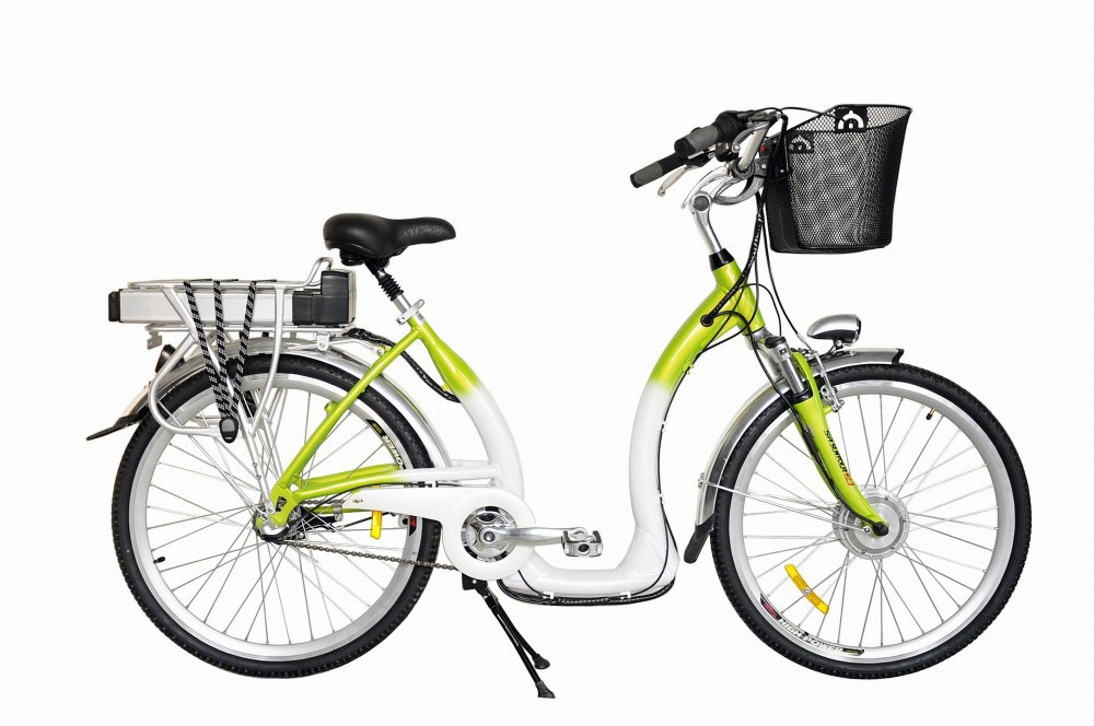 simple elegant style city moped suitable even for dress or skirt