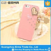 China Wholesale Custom Crystal Diamond back cover Animal Sex Girl Mobile Phone Case for iPhone 4/4s