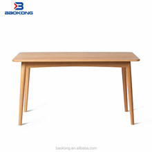 Oak Table Dining Modern Solid Wood Furniture