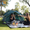 Top sale 3-4 persons automatic camping sleeping bed tent