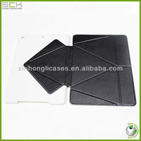 leather cover for ipad air , stand case for ipad 5