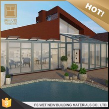 Styles selection high quality glass house for pool