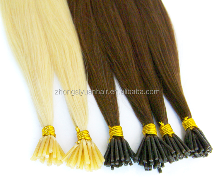 ZSY Hot <strong>selling</strong> stick i tip hair extensions keratin i tip hair extensions