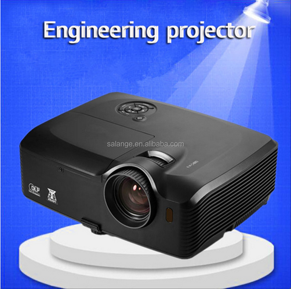 High lumens dlp style engineer projector with 1920x1080 for Small projector with high lumens