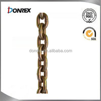 Zinc Plated or Galvanized steel link chain