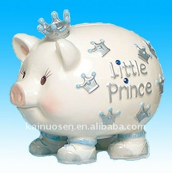 Ceramic piggy bank for boy buy piggy bank metal piggy bank large piggy banks product on - Ceramic piggy banks for boys ...