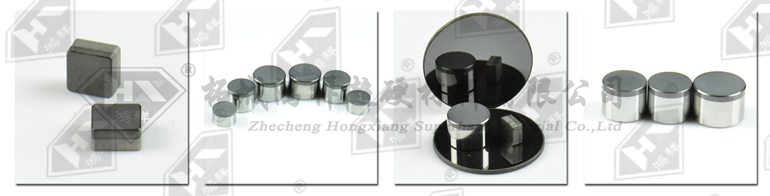 Hot Sale 1308 Flat pdc cutter For Geological, Coalfield, Stone processing