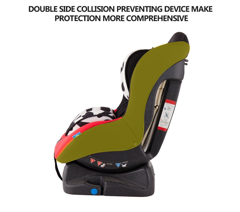 2016 new racing style fabric adjustable car seat baby booster seat