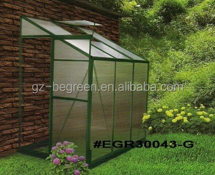 DIY professional factory;aluminum GARDEN greenhouse