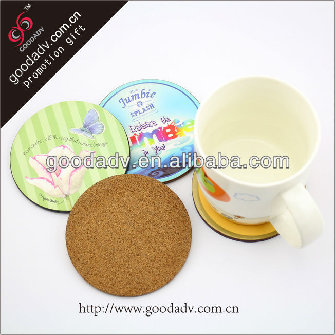 Factory made custom design Advertising Logo Printed wooden placemats and coasters