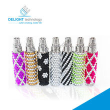 2014 hottest luxury diamond ego battery,cheap price colorful crystal diamond battery ego battery