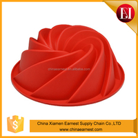 Environmental protection factory promotion cake molds silicone