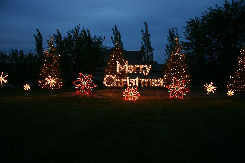 Colorful Christmas Theme Customized Motif Lights