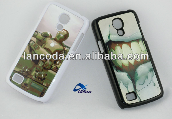 Sublimation case blank with metal plate+ glue for samsung s4 mini