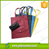 First-rate Custom Logo Printed Foldable non woven bag Tote Laminated PP Non-woven Shopping Eco Bags