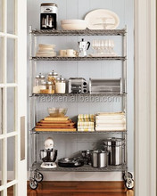NSF Approval Hotel Kitchen Equipment Chrome Metal Wire Racking From Rack Factory