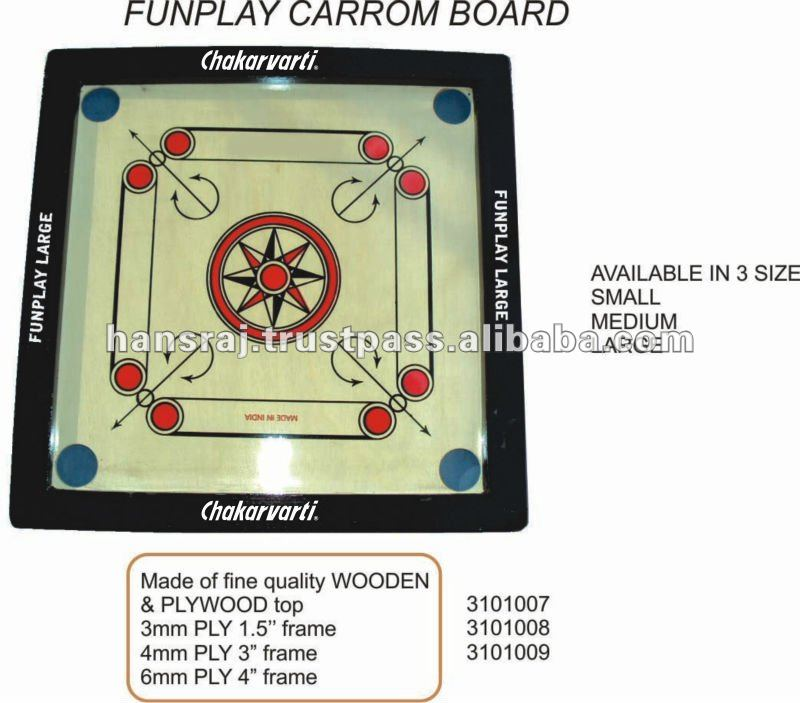 Fair Play Carrom Board