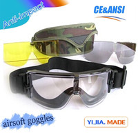 Wholesale airsoft goggles suit china made tactical airsoft goggles suit factroy supply military tactical airsoft goggles suit