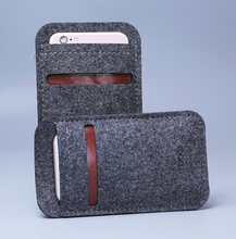 city&case customized felt mobile phone cover