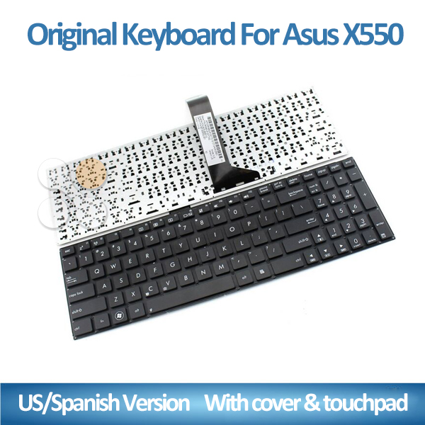 US UK Spanish keyboard laptop for ASUS X550 X550C X550CA X550L X550LD X550LDV X550DP Laptop Russian US UK Keyboard